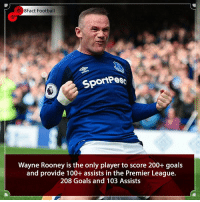 America, Anaconda, and Arsenal: 8Fact Football  SportPes  Wayne Rooney is the only player to score 200+ goals  and provide 100+ assists in the Premier League.  208 Goals and 103 Assists A Legend Departs 😢🙌 What were his best moments ? • • serbia iceland australia france football premierleauge manchester lionelmessi liverpool liverpoolfc everton america dcunited waynerooney arsenal trophy italy worldcup worldcup2018 croatia chelsea cristianoronaldo realmadrid tottenhamhotspur manchestercity england captain usa
