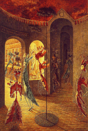 artist-varo:The ladies at Bonhuer, Remedios Varo: 8ONHEURDsTOYENS artist-varo:The ladies at Bonhuer, Remedios Varo