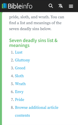 8th deadly sin out now. Click to find out more.: 8th deadly sin out now. Click to find out more.
