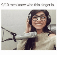 Who is she wrong answers only: 9/10 men know who this singer is Who is she wrong answers only