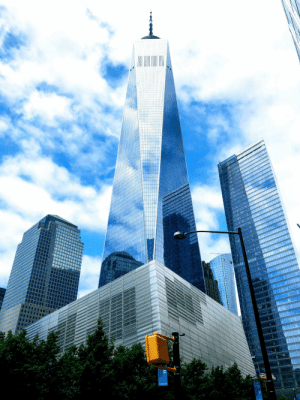 9/11, World, and World Trade Center: 9/11  MEMORIAL  &MUSEUM  11  DRIAL  SEUM One World Trade Center - pretty proud of this one.