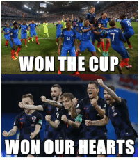 Memes, Hearts, and 🤖: 9  13  co  EZMANN  14  WON THE CUP  WON OUR HEARTS