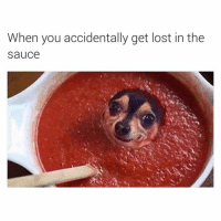 Funny, Lost, and Sauce: When you accidentally get lost in the  Sauce 😂😂😂