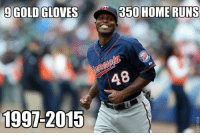 Congrats to Torii Hunter on retiring today. 18 great years in the bigs! RT for one helluva career Twins Angels: 9 GOLD GLOVES  1991-2015  350 HOME RUNS Congrats to Torii Hunter on retiring today. 18 great years in the bigs! RT for one helluva career Twins Angels