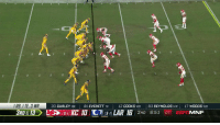 Espn, Memes, and Chiefs: 9  IRB, I TE, 3 WR  30 GURLEY RB81 EVERETT TE  12  COOKS WR 83 REYNOLDS WR 17 WOODS WR The @Chiefs force the Jared Goff fumble! 💪 #ChiefsKingdom  📺: #KCvsLAR on ESPN https://t.co/o065fNlX5d