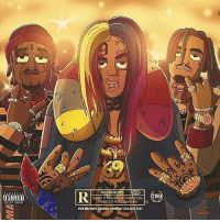 Memes, Wshh, and Covers: 9  t+  RESTRICTED  TRU  ADVISORY  EIFLICIT CONTENT  UNDER 17 REQUIRES ACCOMP NYING  PARENT CR ADULTGUIARDIAN  FOR MIXTAPE COVERS CONTACT 513.808,7017  15 Would y'all be here for Tekashi69 x LilPump x LilUziVert?! 😳👀🔥 @6ix9ine_ @lilpump @liluzivert WSHH