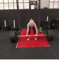 9 year old girl weighing 75lb deadlifts a whopping 125lb! . @doyoueven 👈🏼: 9 year old girl weighing 75lb deadlifts a whopping 125lb! . @doyoueven 👈🏼