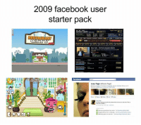 Filipino (Language), Page, and Pages: 90  2009 facebook user  starter pack  RESTAURANT  NEW!  Boss Fight Confront Gancario Morio  facebook  Lexy Page  (Alexia Page) Taas kamay ng nakaabot nito! ✋✋✋