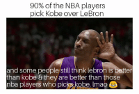 Haters Gonna Hate!   #WWLG4L: 90% of the NBA players  pick Kobe over LeBron  and some people/still think lebron is better  than kobe & they are better than those  nba players who picks kobe. Imao Haters Gonna Hate!   #WWLG4L