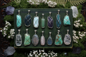 Beautiful, Tumblr, and Blog: 90377:  I spend the last days making these beautiful gemstone pendants and they're now available at my Etsy Shop - Sedna 90377