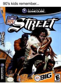 Nfl, Tbt, and Kids: 90's kids remember...  NIN TEN DO  GAMECUBE  EE  M-H  Cz PL  RS  EVERYONE  ESRB #tbt