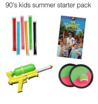 Memes, Summer, and Kids: 90's kids summer starter pack