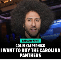 "Bilbo, Carolina Panthers, and Colin Kaepernick: 91-282  or of  572.  BREAKING NEWS  COLIN KAEPERNICK  I WANT TO BUY THE CAROLINA  PANTHERS If you can't beat 'em, join em?! Colin Kaepernick is now throwing his hat in the ring to be the next owner of the Carolina Panthers! The embattled QB was seemingly inspired by Diddy's efforts to buy the team from alleged terrible person Jerry Richardson ... and tweeted at the rap mogul. ""I want in on the ownership group! Let's make it happen!"" Read the rest at TMZ. colinkaepernick panthers diddy tmz tmzsports"