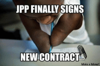 New York Giants released a photo of the Jason Pierre-Paul signing. Like Our Page NFL Memes Credit: Ray Sullins Via Black Adam Schefter: UPP FINALLY SIGNS  NEWICONTRACT  Make a Meme New York Giants released a photo of the Jason Pierre-Paul signing. Like Our Page NFL Memes Credit: Ray Sullins Via Black Adam Schefter