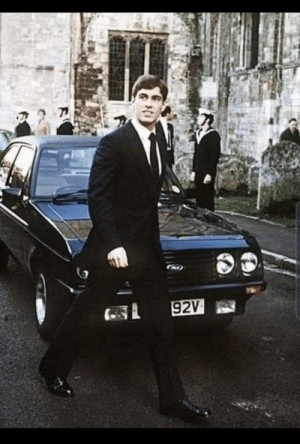 Prince Andrew and his 15 year old Escort!: 92V Prince Andrew and his 15 year old Escort!