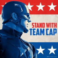 Let freedom ring... Captain America: STAND WITH  TEAM CAD Let freedom ring... Captain America