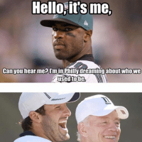Poor DeMarco Murray! Like Our Page NFL Memes: Hello its me,  Can you hear me? Inn  Philly dreaming about who We  used to be, Poor DeMarco Murray! Like Our Page NFL Memes