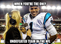 Cam Newton is happy! Like Our Page NFL Memes: WHEN YOURE THE ONLY  UNDEFEATED TEAMINTHE NFL Cam Newton is happy! Like Our Page NFL Memes