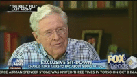 """Time, Conservative, and Reason: """"THE KELLY FILE""""  LAST NIGHT  FOX  EXCLUSIVE SIT DOWN  EWS  CHARLES KOCH TALKS TO FNC ABOUT SIDING WI GOP Trlena S  Channel  ORCE AIRMAN SPENCER STONE WAS KNIFED THREE TIMES IN TORSO ON OCT 8 IN A """"The reason we tend to support Republicans is they are taking us toward the cliff at only 70 mph and the Democrats are taking us 100 mph."""" -Charles Koch"""