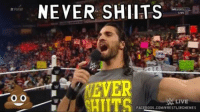 Fun facts about Seth Rollins: RAW  O O  NEVER SHIITS  LIVE  ETE  EVER  LIVE  FACEBOOK.COMWRESTLINGMEMES Fun facts about Seth Rollins