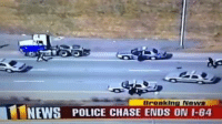 The NFL should sign this cop up right away! -Car memes: Breakin  News  NEWS POLICE CHASE ENDS ON I-64 The NFL should sign this cop up right away! -Car memes