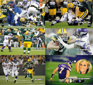 Packers Vikings III memes | quickmeme: 95  S8  BUT WE HAVE THOR...  YES, YOU MAY HAVE A HULK  4c  aanetem  edbERS  12  AND CAPTAIN AMERICA  AND IROH MAN.  PONDER  1A  BUTAT LEASTYOU HAVE NATASHA ROMANOF...  AND HAWKEYE  quickmeme.com Packers Vikings III memes | quickmeme