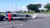 Awesome flat bed tow truck from Japan for lowered vehicles! -Car memes: Awesome flat bed tow truck from Japan for lowered vehicles! -Car memes