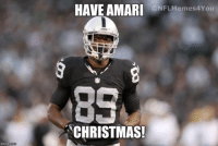 Merry Christmas from all of us here at NFL Memes!!! : imgflip com  HAVE AMARI  CONFLMemes4You  CHRISTMAS! Merry Christmas from all of us here at NFL Memes!!!