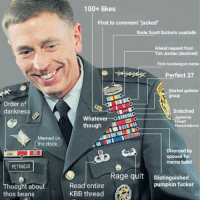 """Thos Beans: Order of  dankness  Memed on  the clock  PETRAEUS  Thought about  thos beans  100+ likes  First to comment """"jacked""""  Rode Scott Suttons coattails  Friend request from  Tim Jordan (declined)  First bandwagon meme  Perfect 37  Started splinter  group  snitched  Whatever  oAM o  Jacked by  I Heart  though  Powerviolence  Divorced by  spouse for  meme habit  Rage quit  Distinguished  pumpkin fucker  Read entire  KBB thread"""
