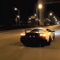 Lamborghini Murcielago waking up the city. Car memes: Lamborghini Murcielago waking up the city. Car memes