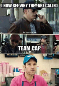 ‪#‎teamheadwear‬ Captain America: I NOW SEE WHYTHEY ARE CALLED  Gc.o.m.i.c.s inc  AA ACIA  TEAM CAP ‪#‎teamheadwear‬ Captain America