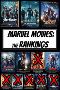 Captain America: The First Avenger (2011) has been removed!! Vote for your least favourite MCU film!!: AVENGERS  GUARDIANS  GALAXY  MAY4  MARVEL MOVIES  THERANKINGS  CAPTAIN AMERICA  ULTRON  IRONMAN Captain America: The First Avenger (2011) has been removed!! Vote for your least favourite MCU film!!