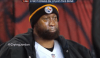 EPIC!: 3 FIRST DOWNS ON 3 PLAYS THIS DRIVE  Crying Jordan EPIC!