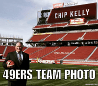 Yep...  Looks right.  Don't Forget To Follow Us On https://twitter.com/NFLmemes4you: CHIP KELLY  @NFL Memes You  49ERS TEAM PHOTO  mematic net Yep...  Looks right.  Don't Forget To Follow Us On https://twitter.com/NFLmemes4you