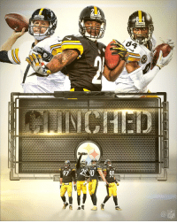 97  NFL The @steelers are AFC North Champions and have CLINCHED a spot in the playoffs! #HereWeGo https://t.co/Vkd92HkuTQ
