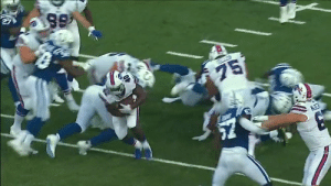 Memes, 🤖, and Another: 99  75  MET Add another RB to the @BuffaloBills rotation.  They kept feeding rookie RB @motorsingletary. 🍴 https://t.co/vy8NzX3HcG