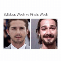 tragic.: Syllabus Week vs Finals Week tragic.