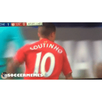 Coutinho scores a golazo to draw even with Chelsea... Jose Mourinho walks off furiously for those 3 mins of stoppage time given by referee Mark Clattenburg PremierLeague: CHE 1 O LIV O  47:27  +2  UTINh  SOCCER MEME Coutinho scores a golazo to draw even with Chelsea... Jose Mourinho walks off furiously for those 3 mins of stoppage time given by referee Mark Clattenburg PremierLeague