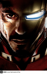 9gag, Dank, and Funny: 9GAG is your best source of fun. Who's excited for Iron man 3?