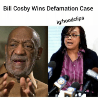 "Arthur, Bill Cosby, and Drugs: Bill Cosby Wins Defamation Case  lg:hoodclips Bill Cosby Wins Defamation Case -hoodclips-A federal judge has thrown out a defamation lawsuit againstBillCosby filed by a Pennsylvania woman who claimed the comedian defamed her in the media, causing her ""emotional distress. ""-Renita Hill, 48, of Pittsburgh, went public with allegations in November 2014 that Cosby drugged and sexually assaulted her back in the 1980s.-In the civil suit filed in October 2015, Hill cited three statements where the comedian, his then-lawyer Martin Singer, and his wife, Camille Cosby, made her out to be a ""liar"" and an ""extortionist"" when they responded to the allegations made by her and other women. -But U.S. District Judge Arthur Schwab ruled that the comments did ""not support a claim for defamation as defined by Pennsylvania law"" and were opinions protected by the First Amendment.-He dismissed the lawsuit ""with prejudice,"" meaning that Hill cannot try to amend and re-file it. -Hill's attorney, George Kontos, said he ""strongly disagreed"" with the judge's reasoning and promised to appeal."