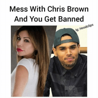 """Chris Brown, Definitely, and Friends: Mess With Chris Brown  And You Get Banned  Hoo  ig Popular LA hotspot, 1 OAK, has recently added LizianeGutierrez, the woman who claimed to have gotten assaulted by ChrisBrown in Las Vegas, to their list of banned customers!---------1 OAK is definitely the place to be when in L.A., but unfortunately for Liziane, the chaos she started with Chris has landed her a lifetime ban from the establishment.-----------""""Money talks and B.S. Walks"""" is the moral of this story. We hear that Chris is close friends with the owner of 1 OAK and furthermore is a- Read More At hoodclips.com"""