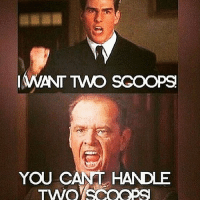 YOU REALLY CAN'T!-.-@doyoueven 👈🏼💯: @gymmemesofficial  I WANT TWO SCOOPS  YOU CAN'T HANDLE TWO SCOOPS YOU REALLY CAN'T!-.-@doyoueven 👈🏼💯