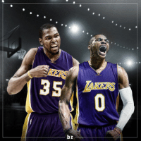 Report: Kevin Durant, Russell Westbrook could team up together with Lakers in 2017 (h-t: @bleacherreport ) nbamemes: 0  r  b  5 Report: Kevin Durant, Russell Westbrook could team up together with Lakers in 2017 (h-t: @bleacherreport ) nbamemes