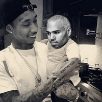 😂😂😂 lmfao chrisbrown tyga: Chris Brown and Tyga just like brothers. That's all. 😂😂😂 lmfao chrisbrown tyga