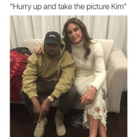 """Funny, Memes, and Ups: """"Hurry up and take the picture Kim"""" Yeezy not feeling it"""