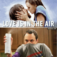 WRONG! Nitrogen, Carbon and Oxygen is in the air!-valentinesday notebook sheldoncooper bigbangtheory: Love is in the air... WRONG! Nitrogen, Carbon and Oxygen is in the air!-valentinesday notebook sheldoncooper bigbangtheory