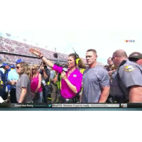 Books, Ignorant, and John Cena: FOX Aenween it you're ready Random clip of the night: You can't see me! John Cena is ignored by NASCAR reporter 😂 @heel_book