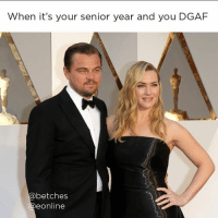 Laughing at all the freshmen try hards at formal like... eredcarpet oscars: When it's your senior year and you DGAF  betches  e Online Laughing at all the freshmen try hards at formal like... eredcarpet oscars