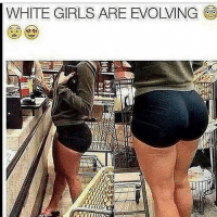 TAG a friend with a squat booty 😳👇🏼-.-@bossgirlsofficial: WHITE GIRLS ARE EVOLVING TAG a friend with a squat booty 😳👇🏼-.-@bossgirlsofficial