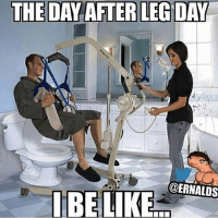 My life be like...-.-@doyoueven ✅✅: THE DAY AFTER LEGDAY  @ERNALDS My life be like...-.-@doyoueven ✅✅